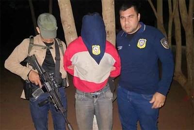 Policía rescata a colono secuestrado