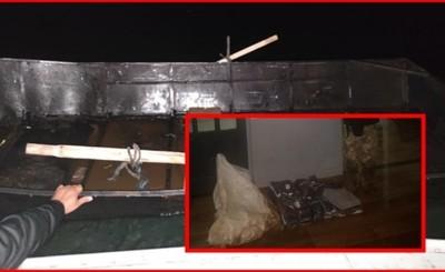 Marinos y supuestos contrabandistas volvieron a enfrentarse