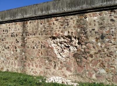Verificarán desprendimiento de muro perimetral de la Penitenciaría de Concepción