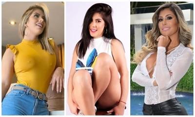 Sole Cardozo, Nadia Aranda y Maga Caballero juntas en lencería