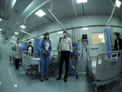 Con camas del Itauguá, aumentan a 465 lugares para terapia intensiva