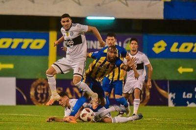 Luqueño y Olimpia empataron en vibrante partido