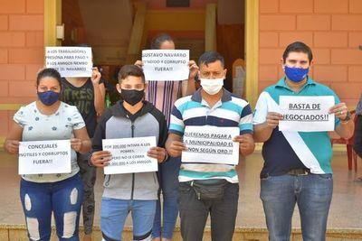 Comerciantes repudian negociado con tragamonedas en Villarrica