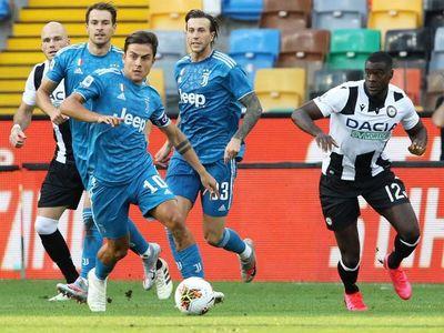 Juventus cae ante Udinese y desperdicia su primera ocasión para ser campeón