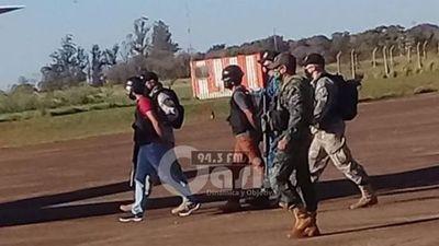 Llamativo traslado de soldados del crimen organizado a Pedro Juan