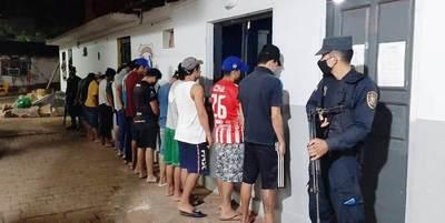Operativo antimotochorros arroja 14 detenidos en Luque y Limpio • Luque Noticias