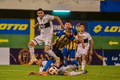 Luqueño y Olimpia empatan en vibrante partido