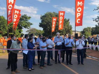 LT S.A concluyó tramo interurbano asfaltado en Central en tiempo récord