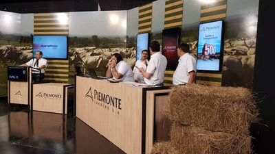 """Piemonte vende el sábado """"muy buena calidad de animales"""" de invernada"""