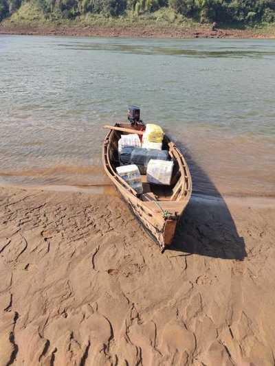 Continúan incautaciones de mercaderías a orillas del Paraná