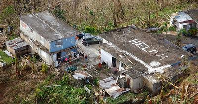 Puerto Rico: miles siguen sin casa desde el huracán María