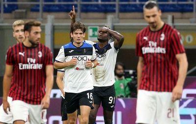 Atalanta logra empate ante Milan