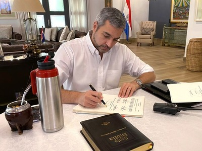 Abdo vetó la ley de Contrataciones Públicas