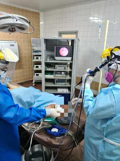 Se realiza primera Broncoscopia con equipo propio en el Hospital Regional