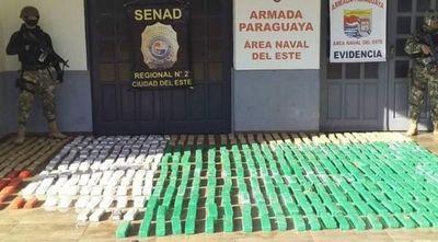 Narcos-contrabandistas nuevamente se enfrentan con la Armada en el este