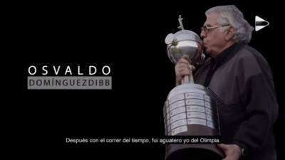 Osvaldo Domínguez Dibb y sus recuerdos por el aniversario 118º de Olimpia