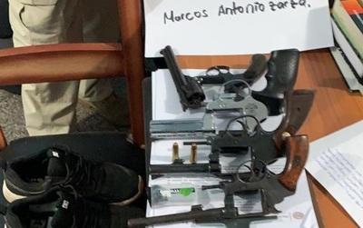 Fiscalía pide juicio oral para 4 personas por tráfico de armas