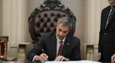 Mario Abdo vetó proyecto de ley que daba preferencia a la producción nacional