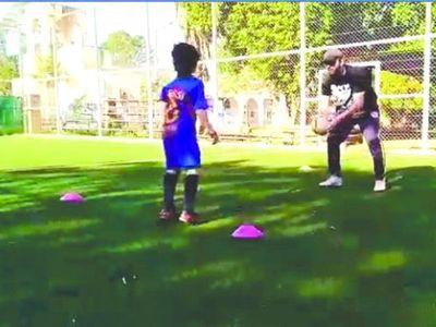 """El """"Messi"""" paraguayo de apenas siete años"""