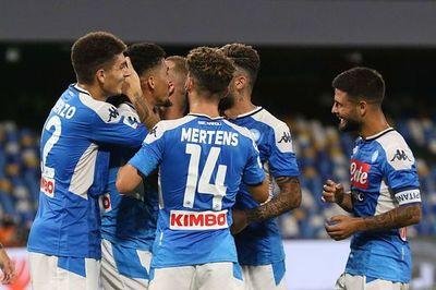 Victoria del Nápoli y cuatro goles anulados al Sassuolo