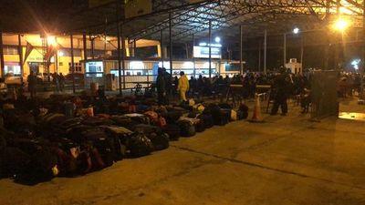Contingente de 193 itapuenses ingresó a nuestro país desde Argentina