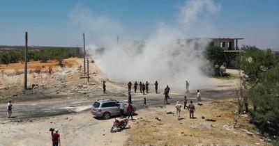 Reportan ocho muertos en una explosión en el noreste de Siria