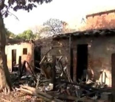 Dos fallecidos tras incendio en vivienda de Asunción