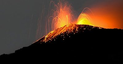 Guatemala vigila aumento de actividad volcánica del Pacaya