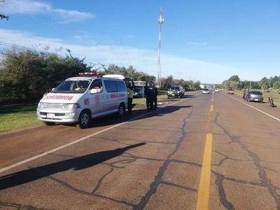 Misiones: joven fallece tras caerse de la moto por culpa de un abrigo