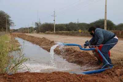 Agua potable llegó al Chaco central mediante acueducto