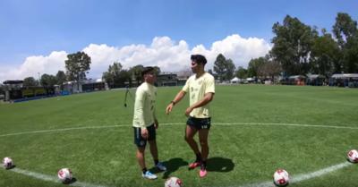 El particular duelo entre Richard Sánchez y Bruno Valdez