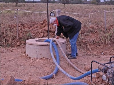 Habilitan agua potable en Loma Plata tras años de atraso