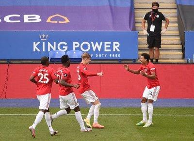 La felicidad es para el Manchester United