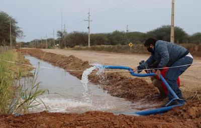 Agua potable llegó al Chaco a través acueducto de 203 kilómetros