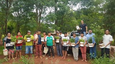 Realizan arborización en dos comunidades indígenas