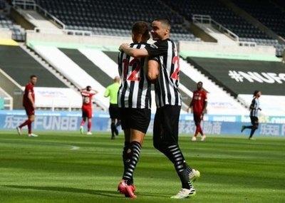 Newcastle y Miggy, con derrota en la despedida