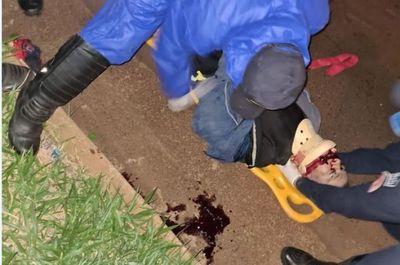 Hombre murió atropellado sobre la colectora en Pedro Juan Caballero