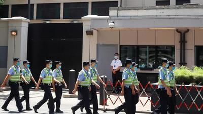 China toma posesión del consulado de EE.UU. en Chengdu en plena escalada diplomática entre ambas potencias