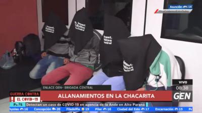HOY / Detienen a miembros de una banda criminal en la Chacarita