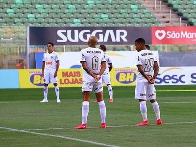 Estreno, participación en el gol y amarilla: Junior Alonso debutó en el Atlético Miniero