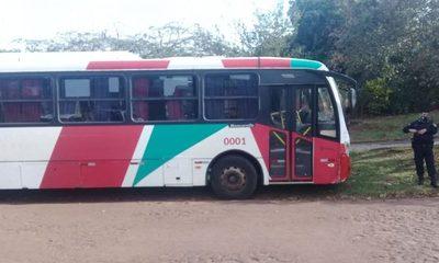 Criminal balea a conductor de  transporte público durante asalto – Diario TNPRESS