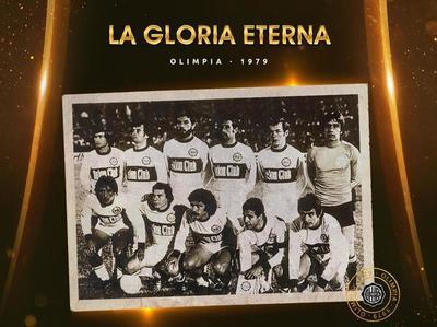 Otro aniversario de la histórica Libertadores de Olimpia en 1979