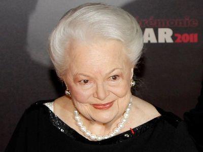 Hollywood recuerda el legado de Olivia de Havilland