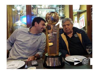 Domínguez Dibb recuerda con emoción el primer título de Copa Libertadores