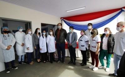 Habilitan mejoras en el Centro de Salud de Juan E. O´leary