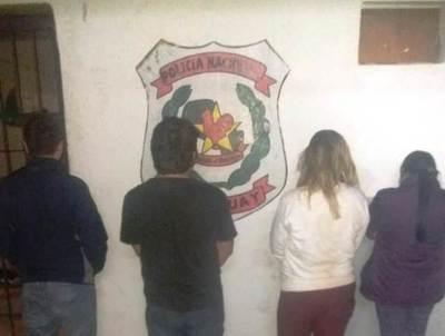 Cuatro aprehendidos por violación de cuarentena en Luque • Luque Noticias