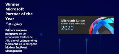 Empresa paraguaya fue premiada por Microsoft por sus soluciones tecnológicas