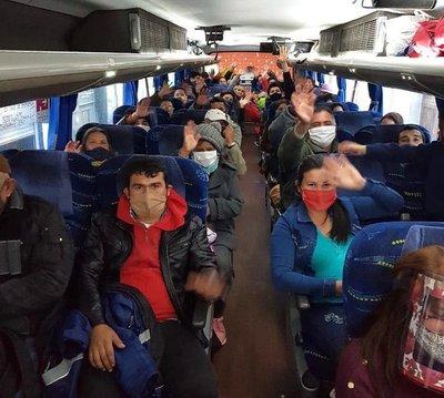 Cerca de 400 compatriotas retornarán desde Argentina en los próximos días