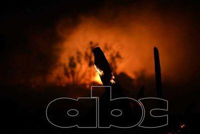 Nuevo incendio por quema de basura en zona del cerro Lambaré