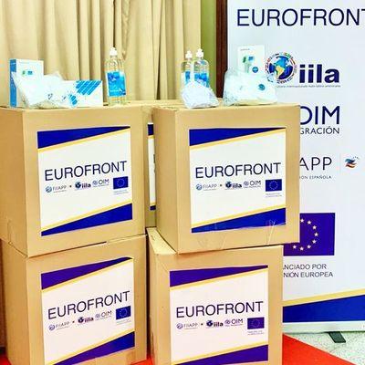 La Unión Europea dona equipos e insumos